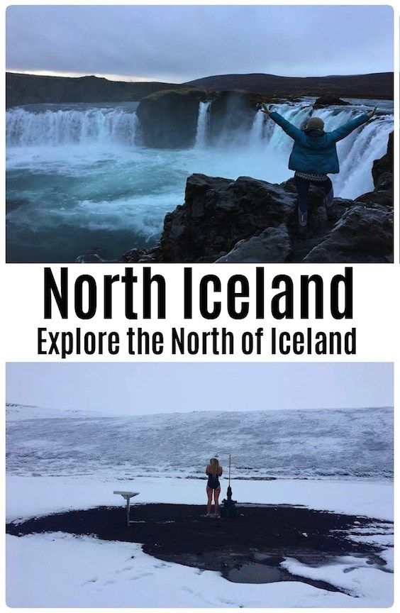 Explore the north of Iceland