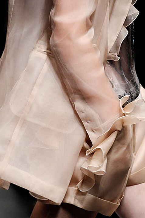 Rodarte | Winter Fashion Trends for Women | OMG It's Pink | womens pink fashion | on the runway
