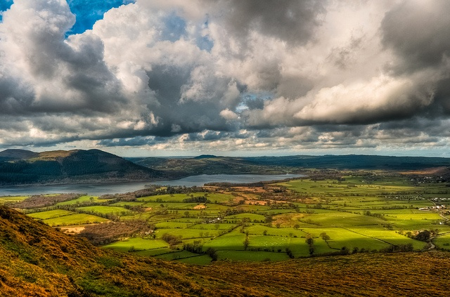 Lake Country in Northern England - Clouds over Bassenthwaite Lake, Cumbria by sagesolar, via Flickr