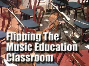 Flipping The Music Ed Classroom - this is a challenge, but if this is what I'm asked to do, this is a good starting point.
