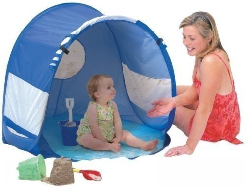 Beach Tent Play u0026 Sun Shade Baby Infant Toddlers Canopy  sc 1 st  Pinterest : baby sun shade tent - memphite.com
