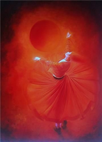 """Dance, when you're broken open. Dance, if you've torn the bandage off. Dance in the middle of the fighting. Dance in your blood. Dance when you're perfectly free."" ― Rumi (Artist: Gülcan Karadağ) ..*"
