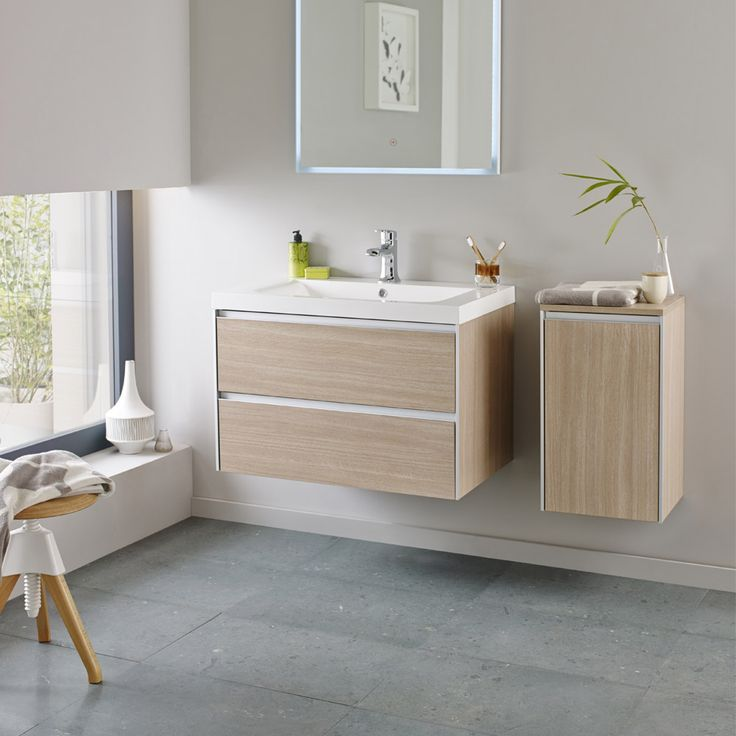 Browse the gorgeous Hudson Reed Erin 800mm Light Oak Furniture Pack. A great choice for modern bathrooms. Now in stock at Victorian Plumbing.co.uk.