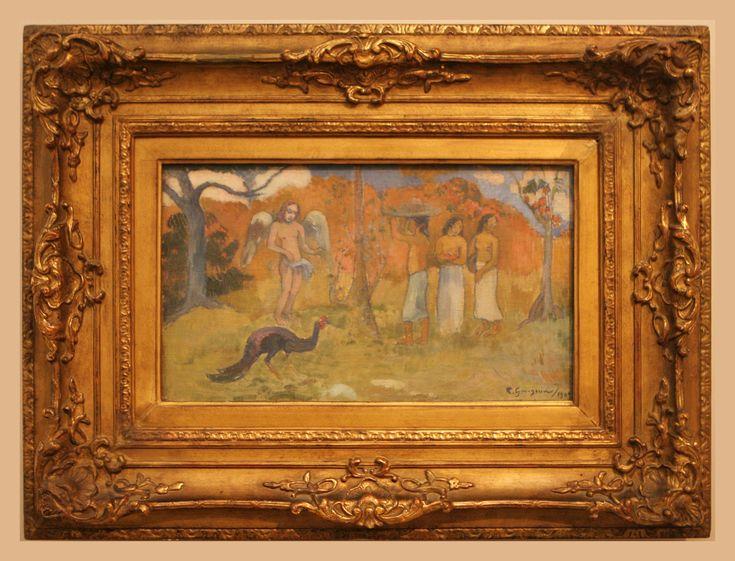 Eugène Henri Paul Gauguin (1848-1903) The Judgement of Paris, 1902, oil on canvas Trade Fair Palace, Prague