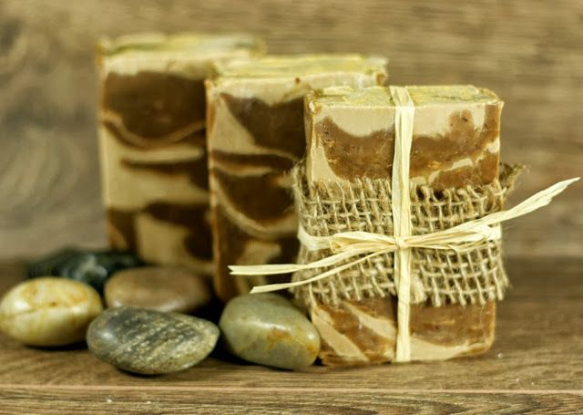Spiced Stout Cold Process Beer Soap