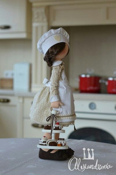 Elena boneca de pano
