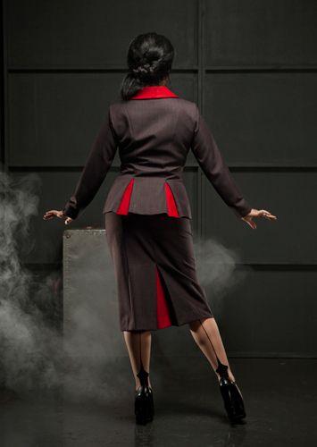 Bastille Blazer and Chatelaine High Waisted Skirt
