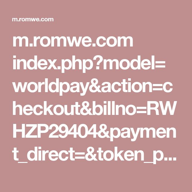 index.php?model=worldpay&action=checkout