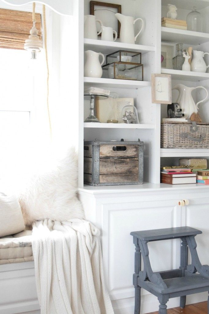 Bookcase Styling - Nesting With Grace