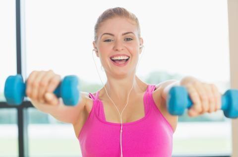 Du kan ankre positive budskaber i din krop mens du træner den