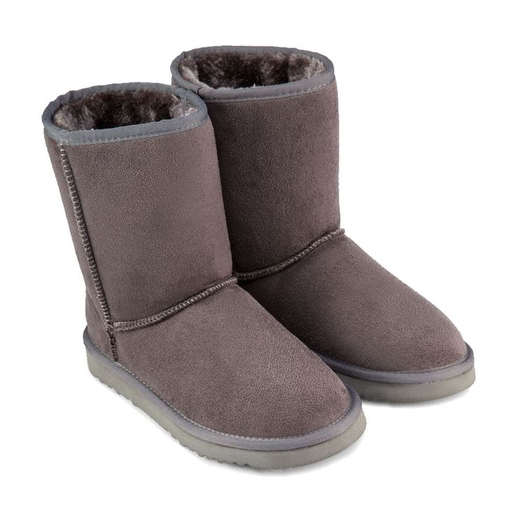 Felt Boots Lined In Fleece by ZALORA. Keep warm with this cute felt boots, feature round toe, fleece insole, synthetic sole. Cute and fluffy boots keep you warm and stylish, pair it with with poncho for a cute combination. http://www.zocko.com/z/JJJFY
