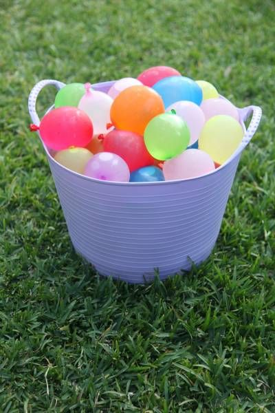 Water Balloons. Perfect for a summer party
