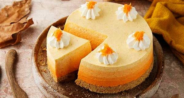چیزکیک کدو حلوایی Food Desserts Cheesecake