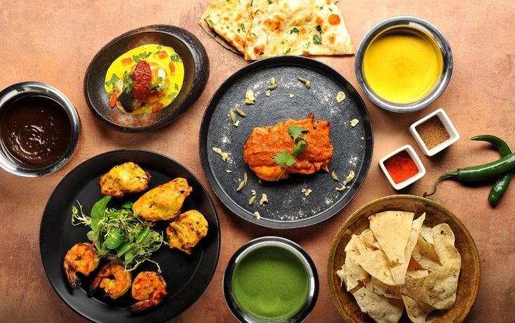 Tradiční indický brunch v restauraci V Zátiší