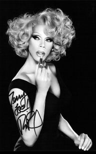 """Ru Paul: """"If you don't love yourself, how in hell you gonna love somebody else? Can I get an 'Amen' in here?"""""""