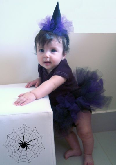 Esta fantasia infantil de bruxinha deixará sua menina encantadora (Foto: Divulgação)