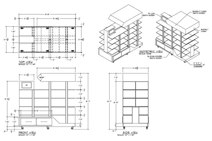 Hw 12 millwork casework sections a collection of ideas to - Kitchen and dining area design crossword ...