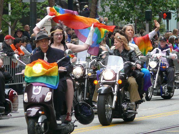 Gay Pride Parade — San Francisco The Bucket List Life