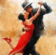 Mijn partner Wim en ik dansen regelmatig samen de Argentijnse tango. Een gezellige manier om onze vrije uurtjes samen door te brengen.