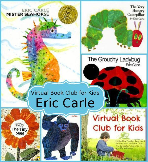 June Virtual Book Club for Kids: Eric Carle - 3Dinosaurs.com