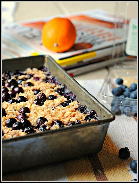 blueberry oatmeal bakeBaking Blueberries, Baked Oatmeal, Baking Oatmeal, Blueberries Oatmeal, Blueberries Baking, Oatmeal Baking, Vegetarian Recipe, Meyers Lemon, Lemon Blueberries