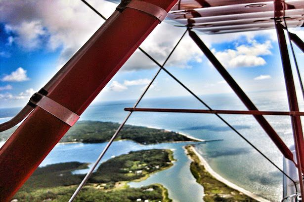 Flying over Cape Cod