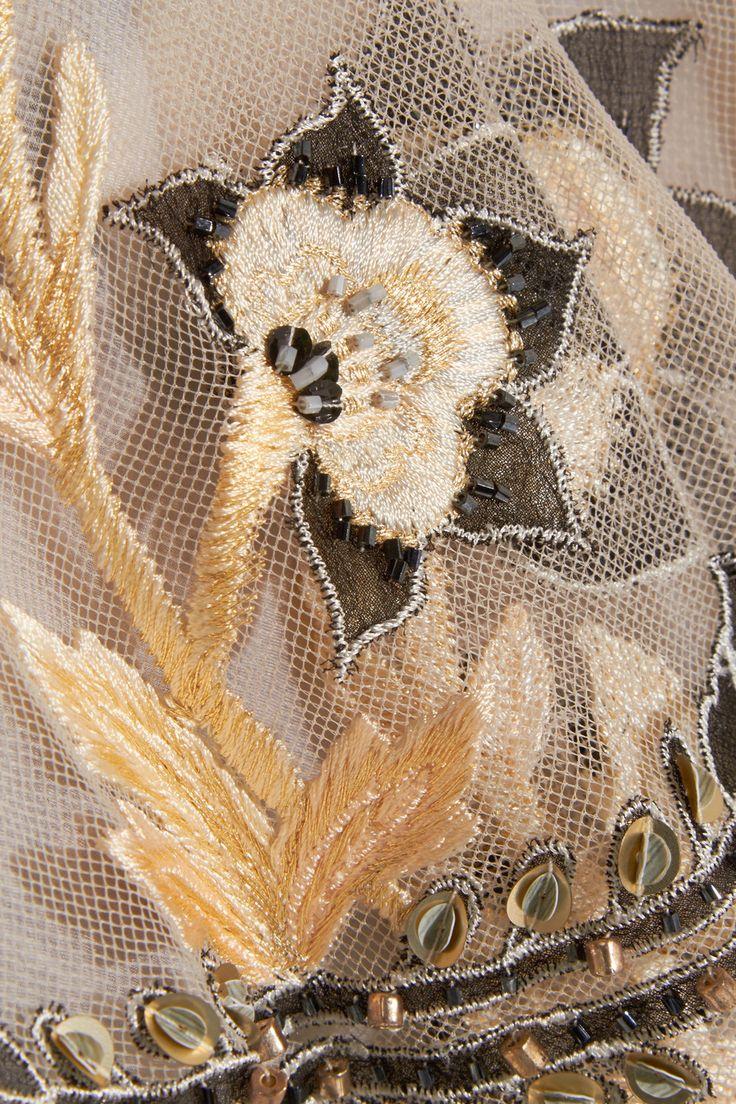 Biyan | Lolita embellished tulle dress | NET-A-PORTER.COM