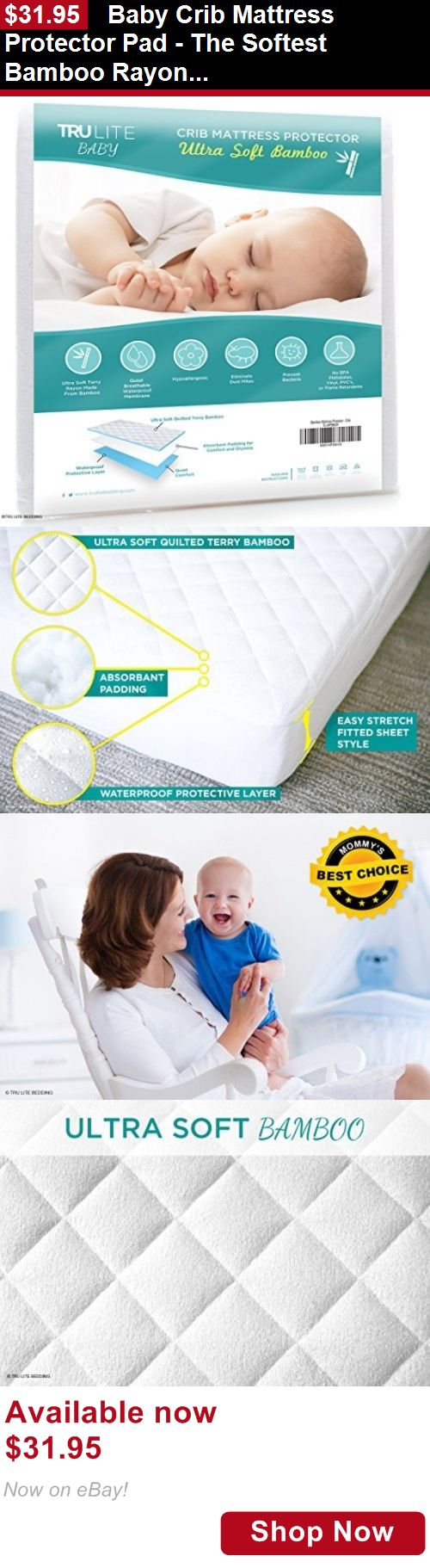 Best baby crib mattress pad - Mattress Pads And Covers Baby Crib Mattress Protector Pad The Softest Bamboo Rayon Fiber