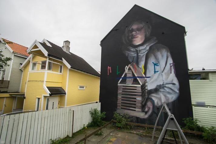 Axel Void (US) for Nuart Festival 2016, Norway. www.nuartfestival.no. Photo courtesy of www.wallkandy.net