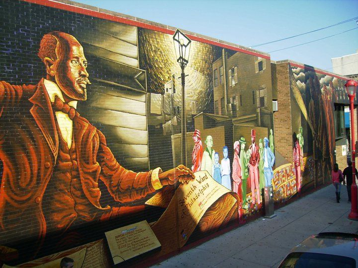 Just one of many amazing murals in Philadelphia, PA, October 2010