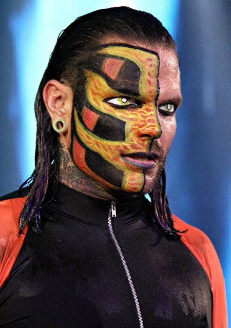 Jeff Hardy Face Paint | Jeff Hardy does the most epic face paints of all time :O