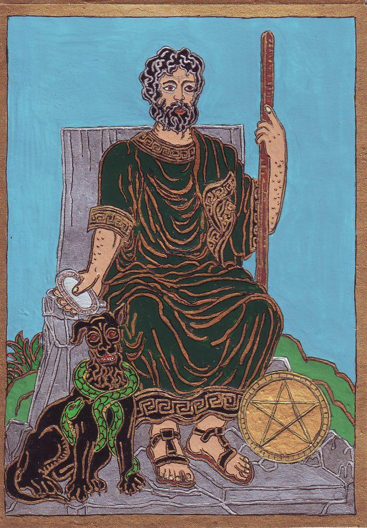 Érmék Királya. Egy 2007-es álom egy klasszikus Plútó-ábrázolást színezett át Érmék Királyává. Tény, hogy a Plútóm, egyszersmind születési uralkodóm a földies Szűz jelben van.