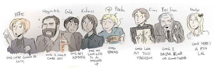 The Hunger Games by ~Super-Cute