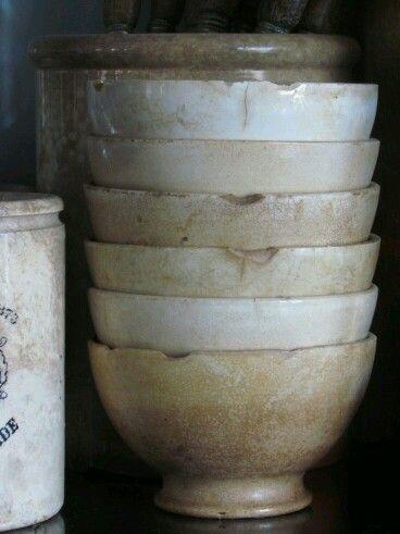 Ironstone bowls