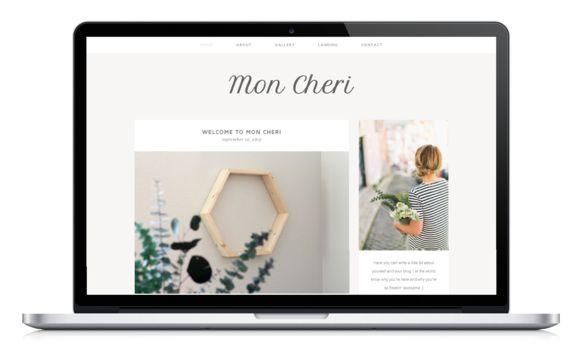 Mon Cheri - A Wordpress Theme by LockheartCreative on Creative Market