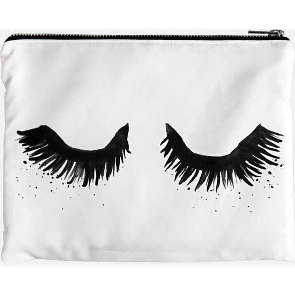 Rianna Phillips Upper East Eyelash Portfolio Clutch Bag ($50) ❤ liked on Polyvore featuring bags, handbags, clutches, polka dot purse, polka dot handbags, print purse, foldover purse and urban purses