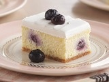 Creamy Lemon Blueberry Dessert - This recipe is midway down the page on Featured Videos
