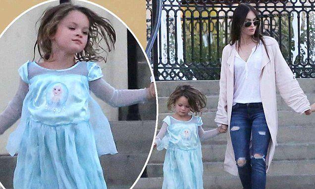 Megan Fox and Brian Austin Green bring family to Calabasas   Daily Mail Online