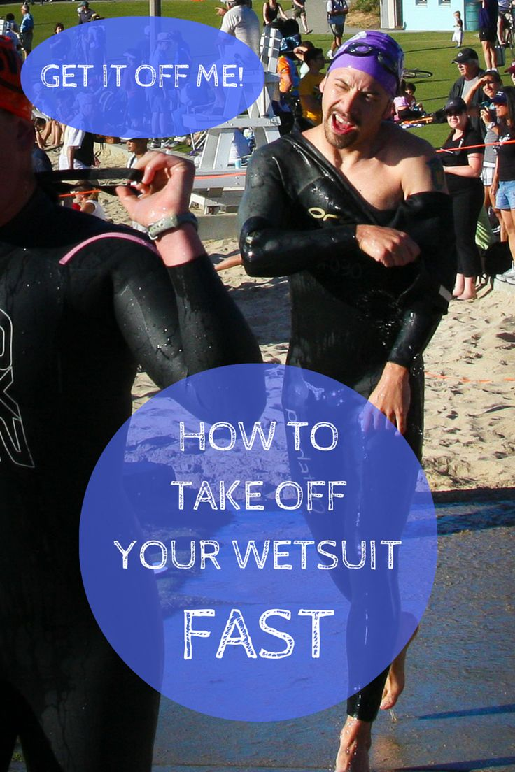 Improve your triathlon transition time during your next race by taking off your wetsuit quickly and efficiently! Get ready for a smooth swim-bike transition.