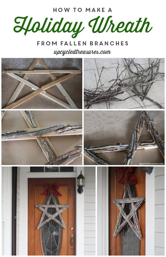 DIY Twig Tree Christmas Ornament - How to make your own handcrafted Twig Tree Christmas Ornament