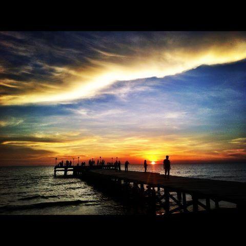 Makassar, Indonesia   Sunset. Makassar. Indonesia