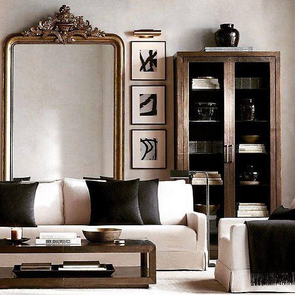 best 25 living room mirrors ideas on pinterest gray living room decor ideas front room. Black Bedroom Furniture Sets. Home Design Ideas