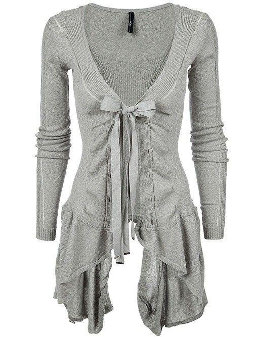 Love this grey cardi :)