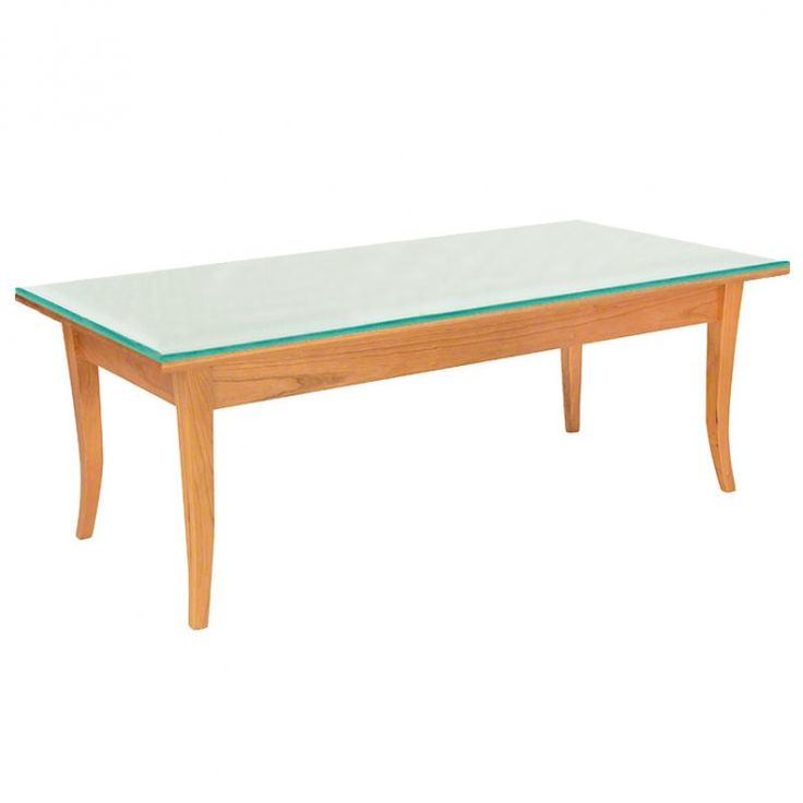 In Stock   Our Handmade, Solid Cherry Wood Classic Shaker Coffee Table Will  Add Luxury U0026 Functionality To Your Shaker Living Room, Library Or Hallway.