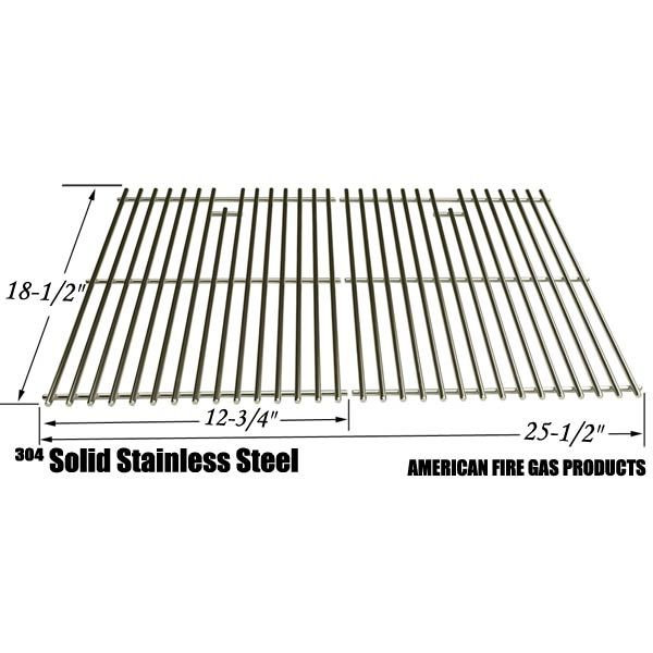 2 PACK STAINLESS STEEL COOKING GRID FOR MASTER CHEF 85-3040-4, DCS 27 SERIES, 27ABQ AND MEMBERS MARK B09PG2-4B GAS GRILL MODELS Fits Compatible Master Chef Models : 850-3040-4, 853041-2, 85-3044-6, 85-3045-4, E480, E500, G45301, G45303, G45304, G45306LP, G45307N, G45308, G45309 Read More @http://www.grillpartszone.com/shopexd.asp?id=33976&sid=26079
