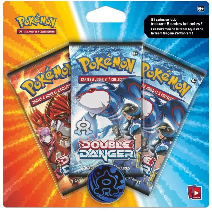 pokemon packs | pokemon pack double danger - Achat / Vente carte a collectionner Pack ...