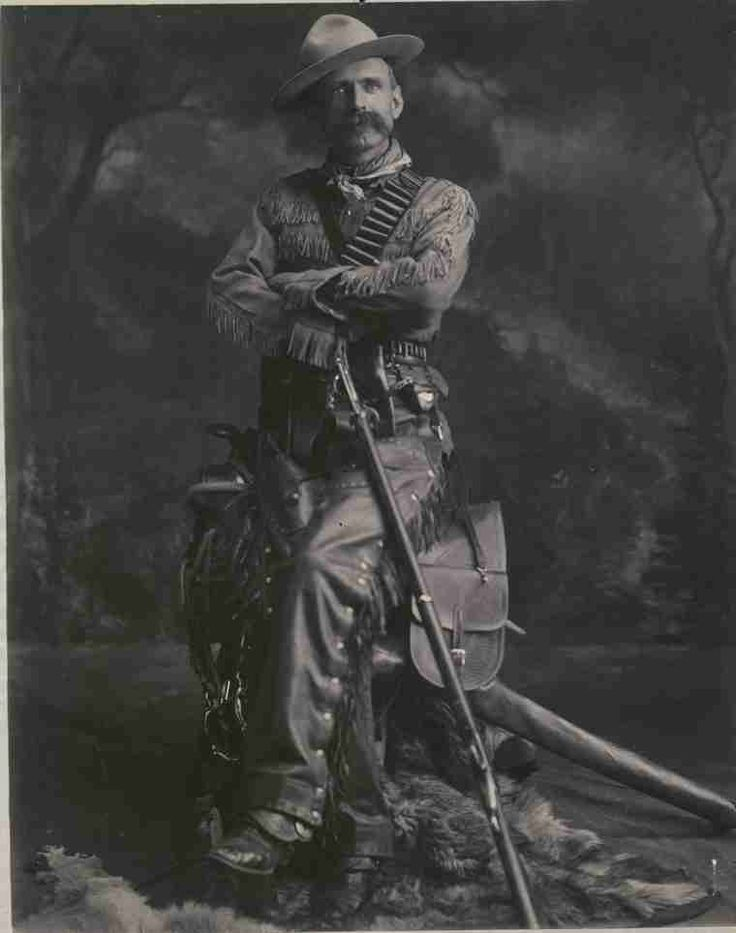 "A photographic portrait of ""Gentleman"" Joe McKay of Prince Albert. McKay was a Metis North West Mounted Police Scout, and held by some to have fired the first shots in the Northwest Uprising of 1885 at Duck Lake. This is a studio portrait with McKay posed in costume."