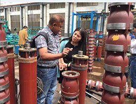 Submersible sewage pump export to Kenya