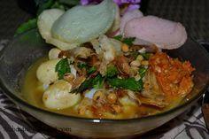 Diah Didi's Kitchen: Bubur ayam kuah kuning ala kali lima