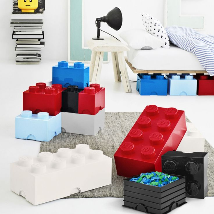 lego storage aufbewahrungsbox im ikarus design shop wohnung kinderzimmer pinterest. Black Bedroom Furniture Sets. Home Design Ideas
